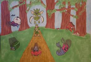 My top 6 Bug type Pokemon