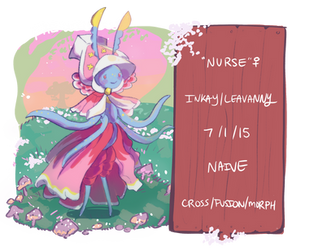 fae willows | nurse | lvl 100 by pastelfae