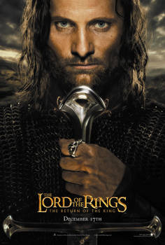 Lord of the Rings - Poster Aragorn