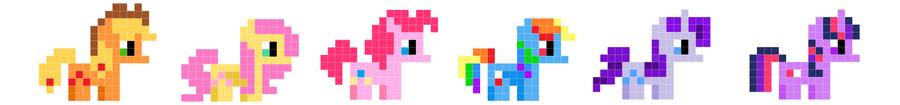 Ponies by Looji