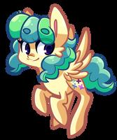 Theta pony by Looji