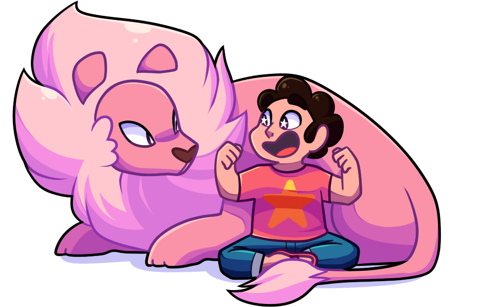 Steven Universe fanart because yes lion is my favorite character 030 video link www.youtube.com/watch?v=rhKarM…
