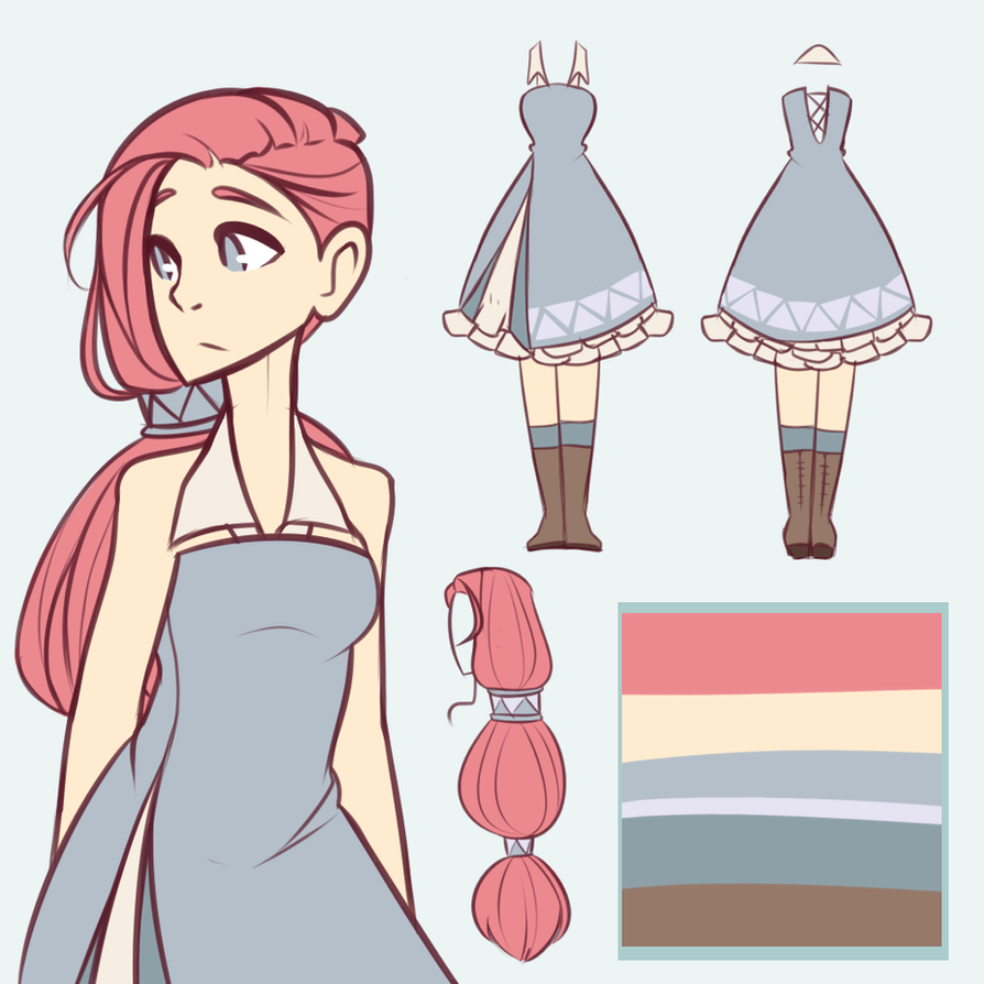 Anime Character Design Tips : Adopt closed by looji on deviantart