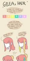 GELEA - hair in more detail by Looji