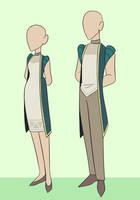 GELEA - Servants outfit by Looji