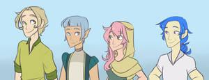 Genderbend peoples by Looji