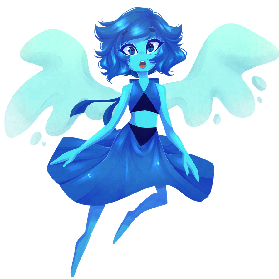 a little thing I did, being at my parents house ~ speedpaint www.youtube.com/watch?v=ubc6i6… Lapis is from Steven Universe ~