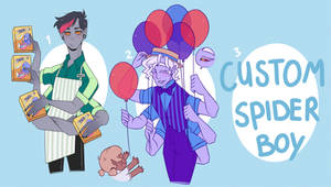 SPIDER BOYS ADOPTS - CLOSED