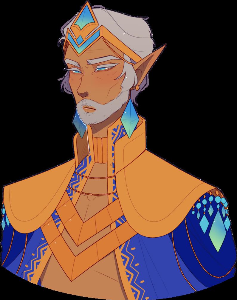 The former King by Looji