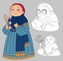 Granny Greta by Looji