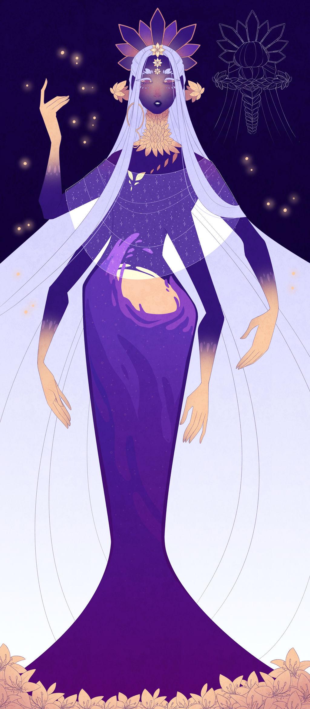 custom design : Goddess by Looji
