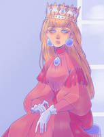 Princess toadstool by Looji