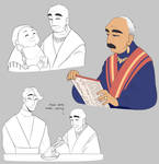 Grandpa Haan by Looji