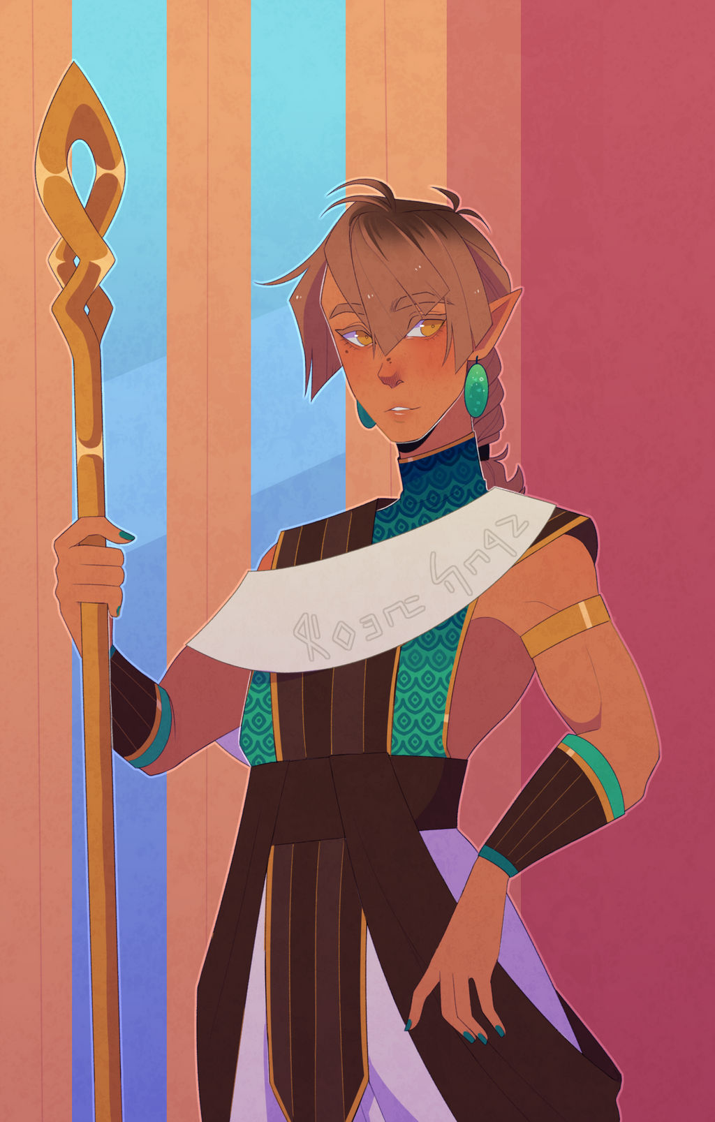 Guard outfit by Looji