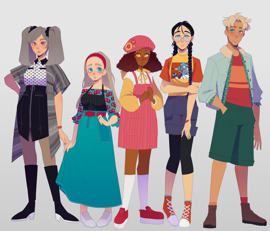 PR - other characters by Looji