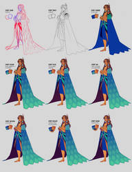 Step by step - Prince Dandei by Looji