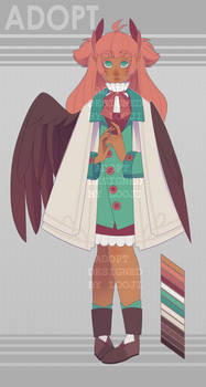 Winged girl - OPEN adopt