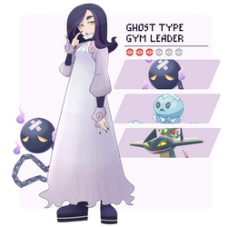 Fanmade ghost gym leader