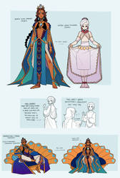 GELEA - young king sketchpage 2
