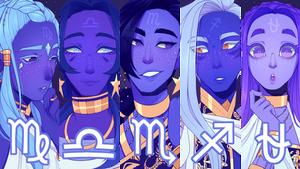 SPEEDPAINT Zodiac princes part 3