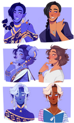 Zodiac Princes but they're human part 1