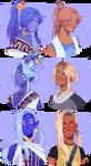 Zodiac Princes but they're human part 2