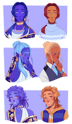 Zodiac Princes but they're human part 3