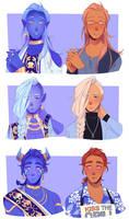 Zodiac Princes but they're human part 4