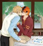 A Happy Birthday gift -yaoi-