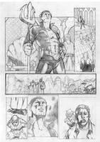 hulk vs namor page2 by Geniss