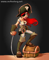 pirate babe by Geniss