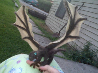 Needle Felted Dragon by Tasey