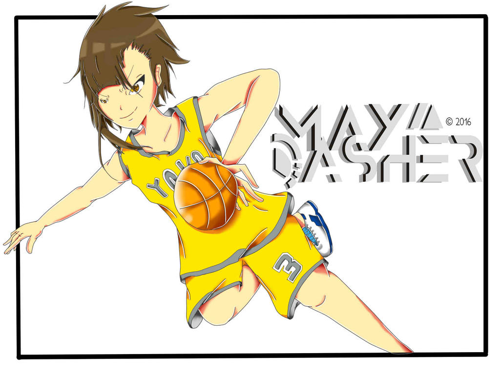 BasketBall ( comission Stella D.S. ) by May-Asher
