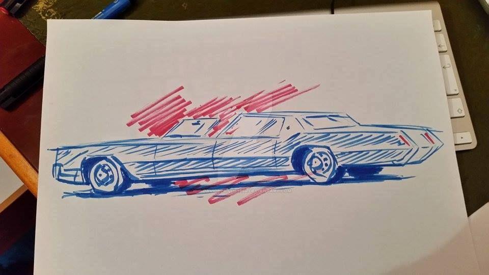 1967 Cadillac Eldorado Town Car by DavidBeattie1984