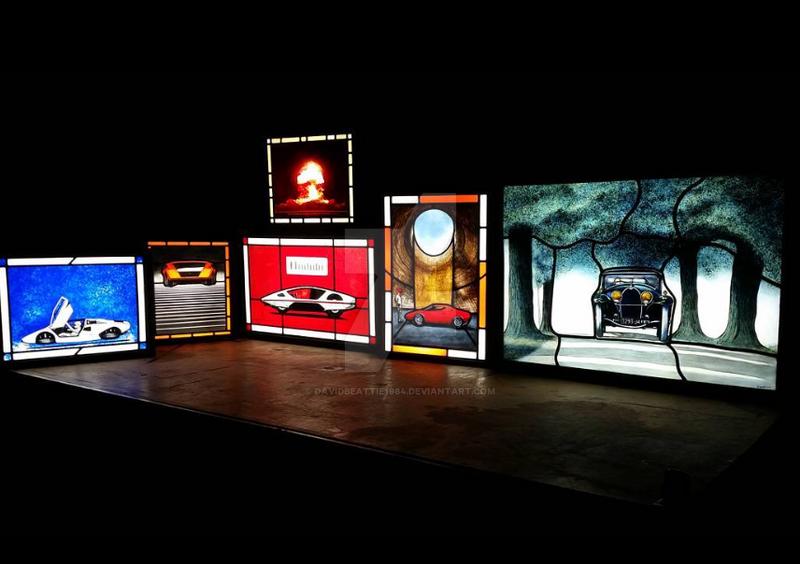 Light boxes by DavidBeattie1984
