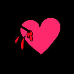 Heart Struck TRANSPARENT OVERLAY
