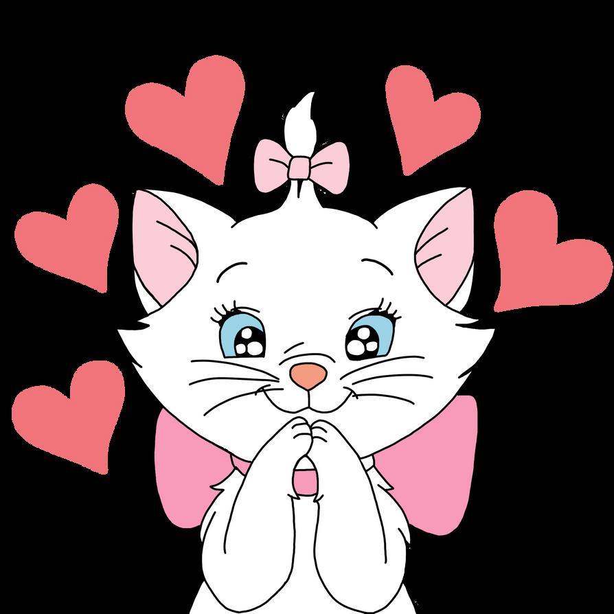 Картинки с котиками я тебя люблю