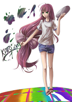 Katsumi Paints by Sanmo-san