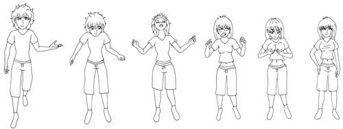 Male to Female Transformation Sequence TG - Lina