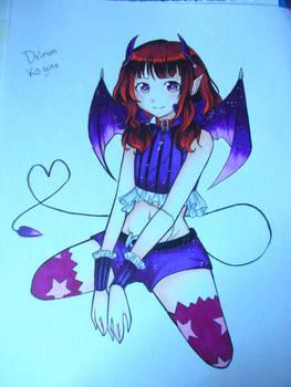 The Secret Of Devil-Chan fanart x'3