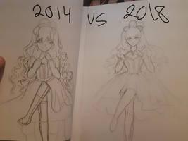 Redraw this : 2014 VS 2018