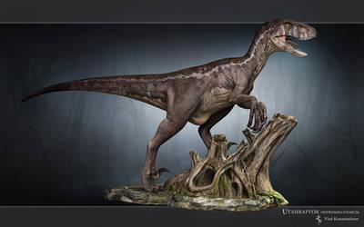 Utahraptor by Swordlord3d