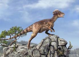 Pachycephalosaurus by Swordlord3d