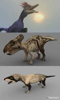 Characters Dinosaur Revolution