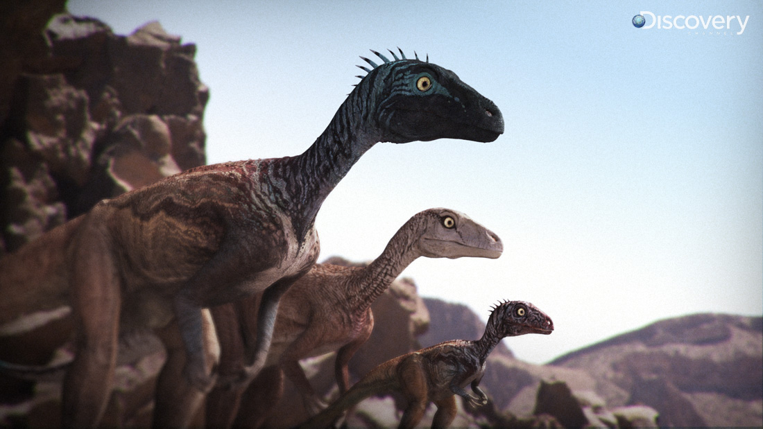 Eoraptors Dinosaur Revolution2 by Swordlord3d