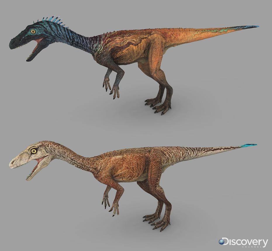 Eoraptor Dinosaur Revolution 3 by Swordlord3d