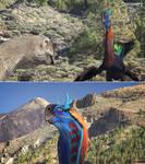Gigantoraptors from DR 1