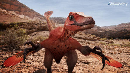 Velociraptor from DR by Swordlord3d