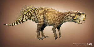 Psittacosaurus. Dino Dan by Swordlord3d