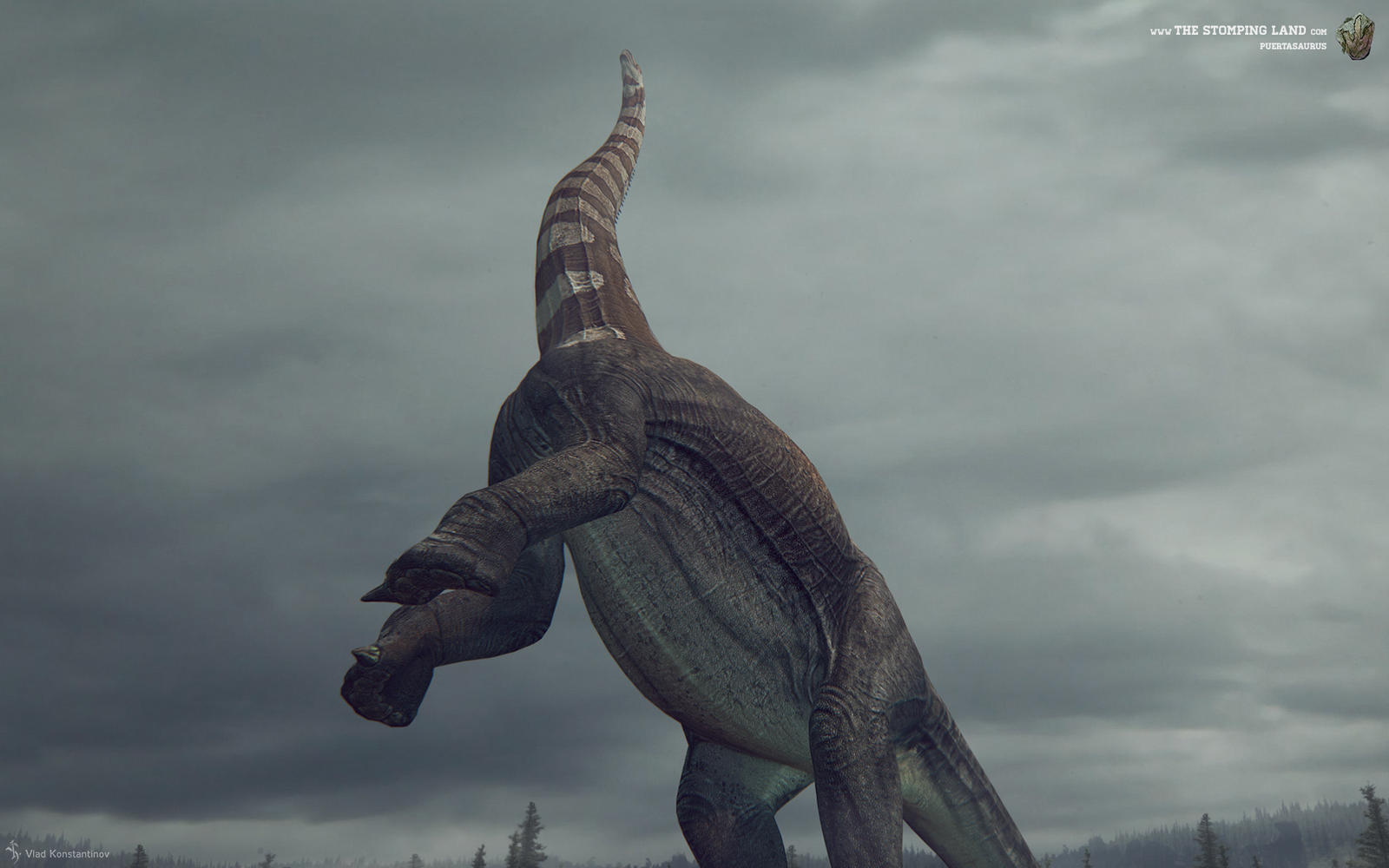 Puertasaurus. The Stomping Land. 01
